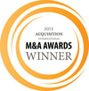 Acquisition International 2013 - M&A Awards Winner