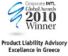 Product Liability Advisory Excellence - Greece