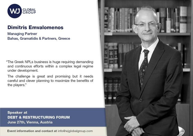 Vienna 27.6.2019 Speaker Card -Dimitris Emvalomenos